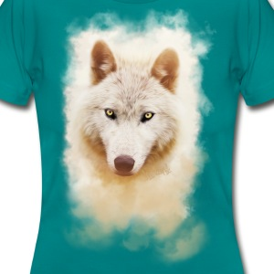 .: White Wolf - Intense :. - Frauen T-Shirt