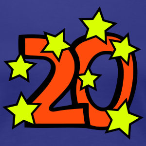 """Geburtstag T-Shirts mit """"20 Geburtstag"""""""