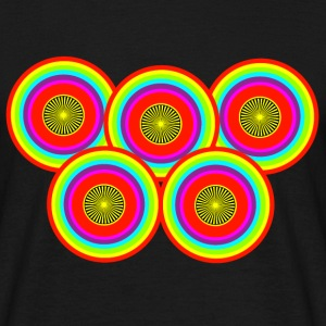 cercles multicolores 2 - T-shirt Homme