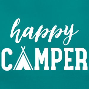 Happy Camper T-shirts - Dame-T-shirt