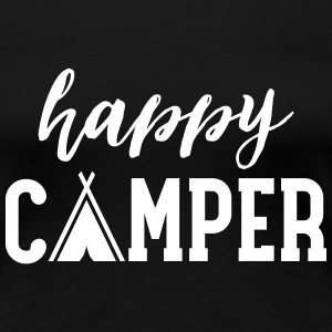 Happy Camper T-Shirts - Frauen Premium T-Shirt