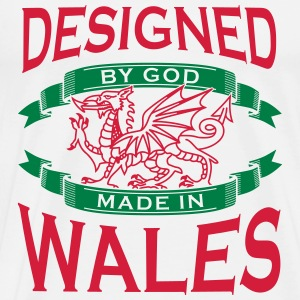 Design by God Wales - Made in Wales T-Shirts - Men's Premium T-Shirt