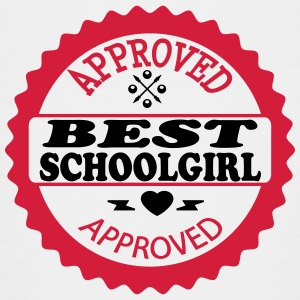 Approved best schoolgirl T-shirts - Teenager premium T-shirt