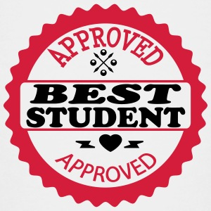 Approved best student T-shirts - Premium-T-shirt tonåring