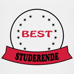 Best studerende T-shirts - Teenager premium T-shirt