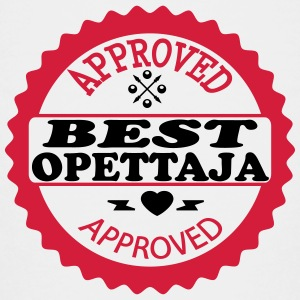 Approved best opettaja T-shirts - Teenager premium T-shirt