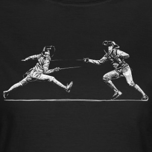fencing Tee shirts - T-shirt Femme