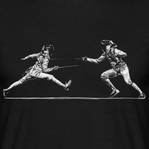 Fencing T-shirts - Herre-T-shirt