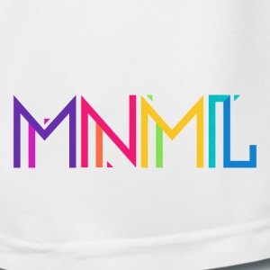 Minimal Type (Colorful) Typograhoy - MNML Design Trousers & Shorts - Men's Football shorts