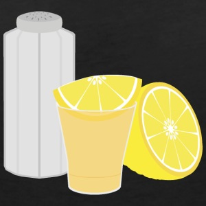 Sel, citron et tequila Tee shirts - T-shirt col V Femme