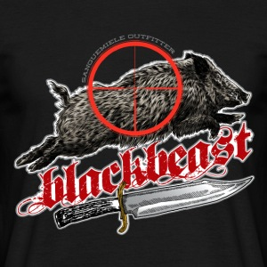 black beast 2016 T-Shirts - Men's T-Shirt