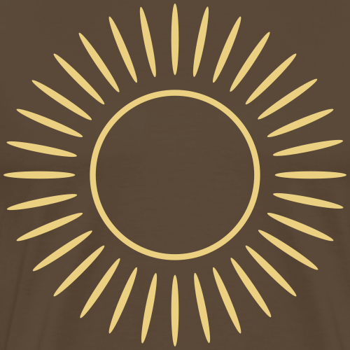Sonne mit Strahlen