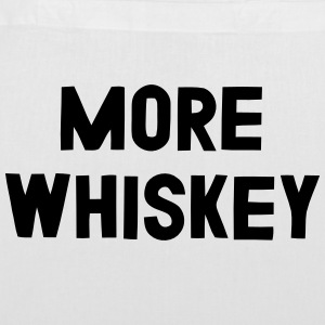 MORE WHISKEY Bags & Backpacks - Tote Bag