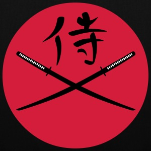 Japanese Katana and Samurai Kanji Bags & Backpacks - Tote Bag