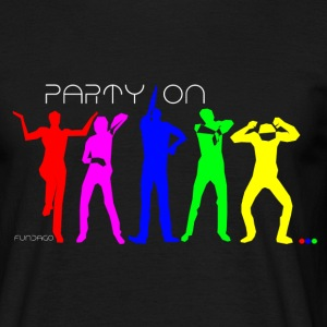 Party Dance Motiv - Männer T-Shirt
