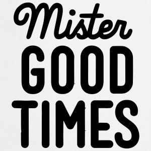 MISTER GOOD TIME  Aprons - Cooking Apron