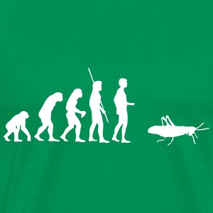 Evolution grasshopper T-Shirts - Men's Premium T-Shirt