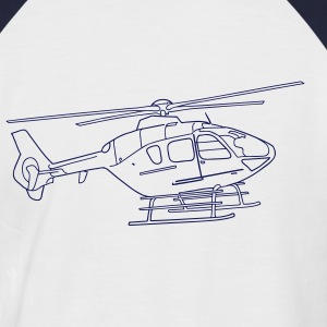 Helicopter T-Shirts - Men's Baseball T-Shirt