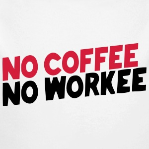 NO COFFEE NO WORK Baby Bodysuits - Longlseeve Baby Bodysuit