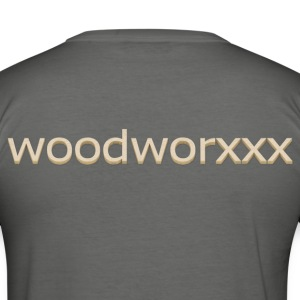 www.woodworxxx.com - Männer Slim Fit T-Shirt