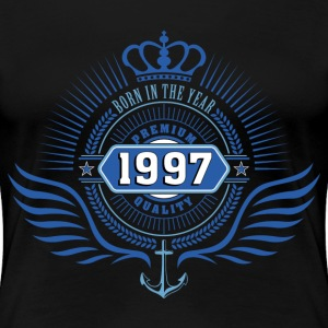 born_in_1997 T-Shirts - Frauen Premium T-Shirt