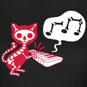 death cat music T-Shirts - Frauen T-Shirt