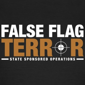 False Flag Terror - Women's T-Shirt