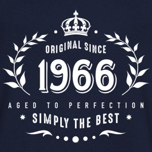 original since 1966 simply the best 50th birthday - Männer T-Shirt mit V-Ausschnitt