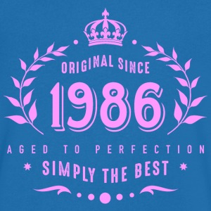original since 1986 simply the best 30th birthday - Männer T-Shirt mit V-Ausschnitt