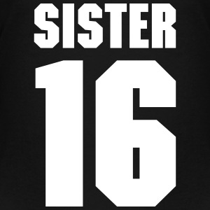 Sister 16 Teamplayer T-Shirts - Teenager Premium T-Shirt