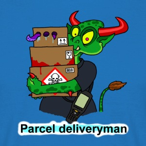 parcel deliveryman T-Shirts - Men's T-Shirt