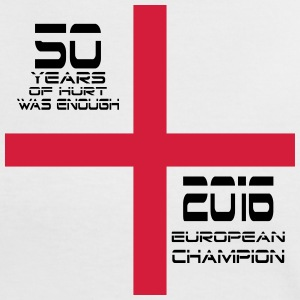 England 2016 champion by Claudia-Moda - Women's Ringer T-Shirt