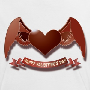 Happy Valentine's Day T-Shirts - Frauen Kontrast-T-Shirt