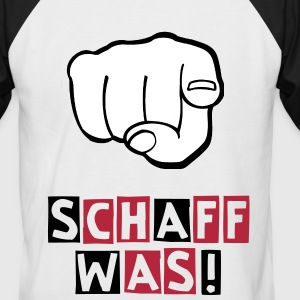 Ziaja-Fanclub Schaff was!-Shirt - Männer Baseball-T-Shirt
