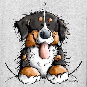 Happy Bernese Mountain Dog Hoodies & Sweatshirts - Unisex Hoodie