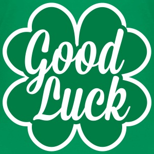 Good Luck Cloverleaf T-shirts - Teenager premium T-shirt