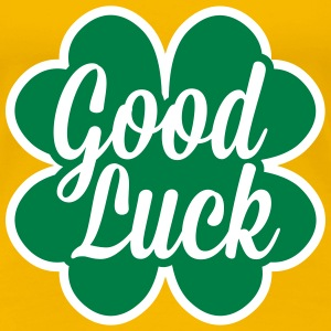 Good Luck Cloverleaf T-shirts - Vrouwen Premium T-shirt