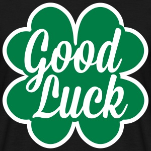 Good Luck Cloverleaf T-Shirts - Men's T-Shirt