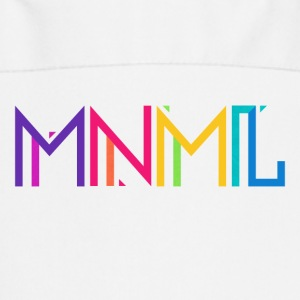 Minimal Type (Colorful) Typograhoy - MNML Design  Aprons - Cooking Apron