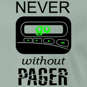 Fun never go without pager T-Shirts - Männer Premium T-Shirt