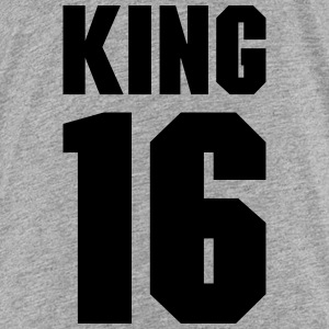 King 16 Teamplayer T-shirts - Premium-T-shirt tonåring