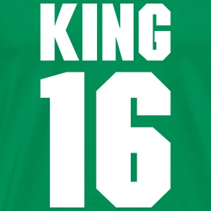 King 16 Teamplayer T-Shirts - Men's Premium T-Shirt