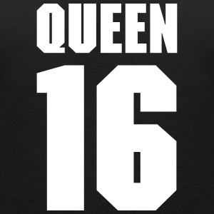 Queen 16 Teamplayer Camisetas - Camiseta con escote en pico mujer