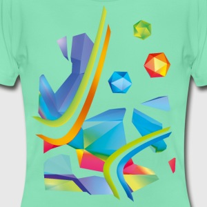 Fresh Works 3D Graffiti - Vrouwen T-shirt