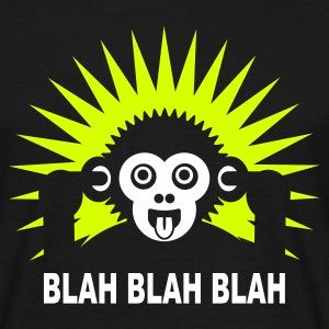 Blah blah blah - Ape - dunkles Hemd