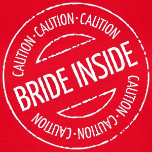 Caution - Bride Inside Stamp (Hen Party)