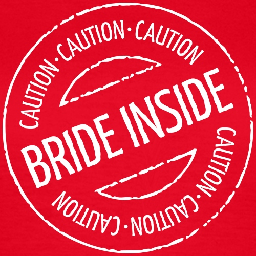 Caution - Bride Inside Stamp (Hen Party)