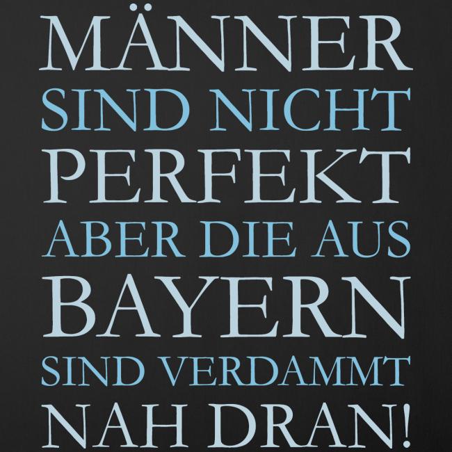 Männer aus Bayern (Hellblau) Kissenbezug