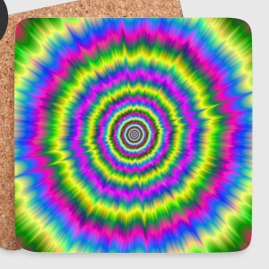 Neon Explosion - Coasters (set of 4)