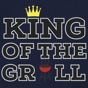 King of the Grill  Camisetas - Camiseta de pico hombre